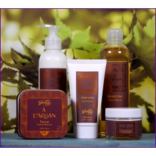 Argan olie luxe set
